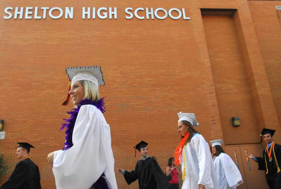 Brad Horrigan | New Haven Register. Shelton, Connecticut : The 2019 Shelton High School graduation. Photo: /