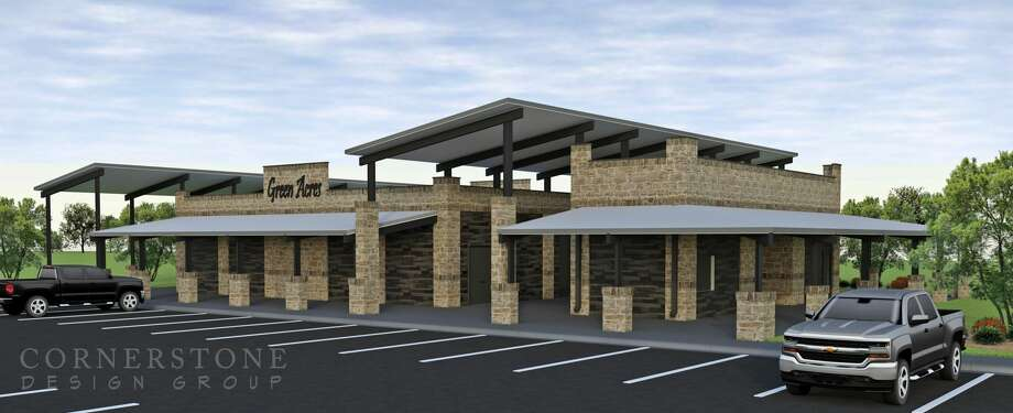 Rendering of Green Acres' new building. Photo: Special To The Reporter-Telegram