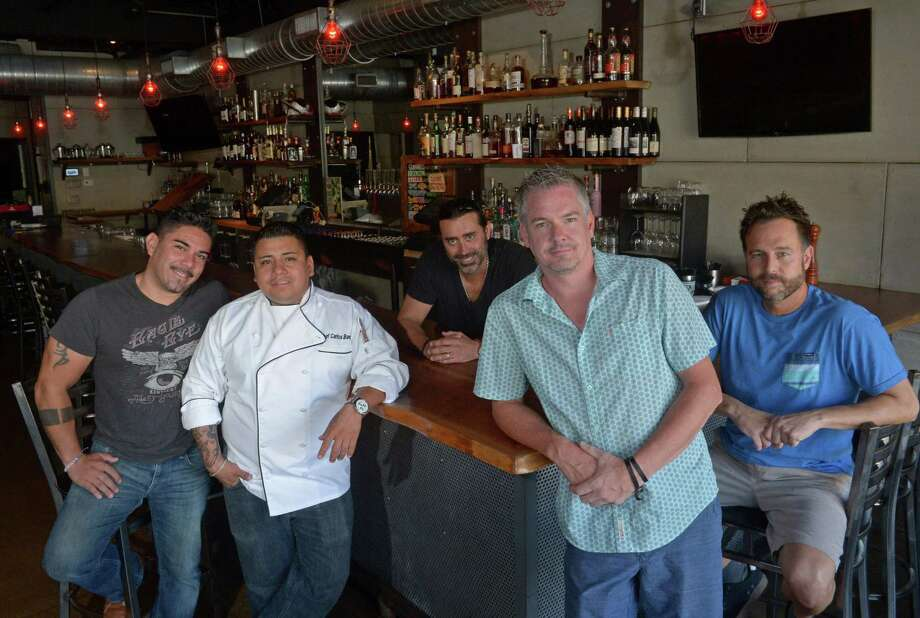 A 2017 file photo of the management team of The Spread, which has relocated its South Norwalk restaurant to the former Harlan Publick space just off Washington Street. Photo: Erik Trautmann / Hearst Connecticut Media / Norwalk Hour