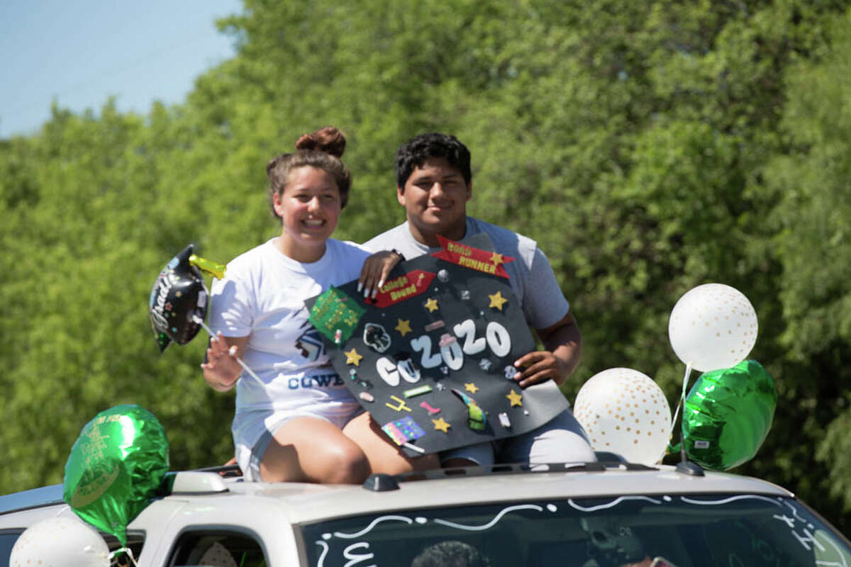 Loved ones, business owners and other community members celebrated the Harlandale Independent School District's graduating seniors during their Senior Parade. The hour long parade route started at Harlandale Memorial Stadium and wrapped up at Southwest Military Drive and Pleasanton Road.