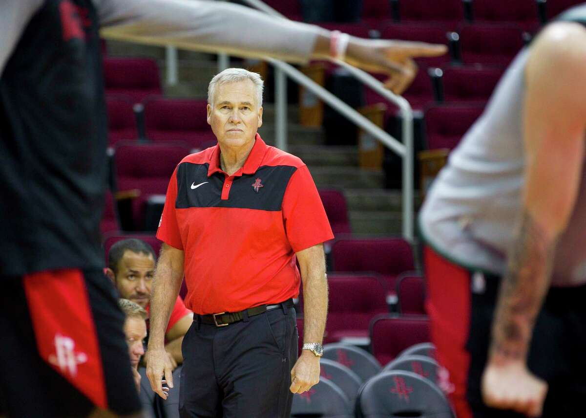 Houston Rockets head coach Mike D'Antoni is ready to get his full team for practice in Orlando on Saturday.
