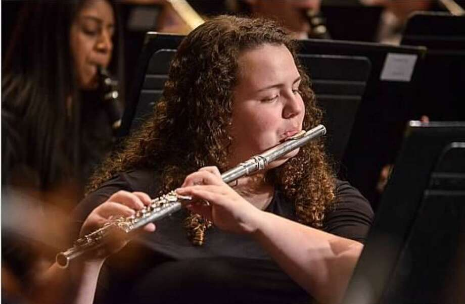 Shelton High School senior flutist Karina Friend. Photo: Contributed Photo / / Connecticut Post
