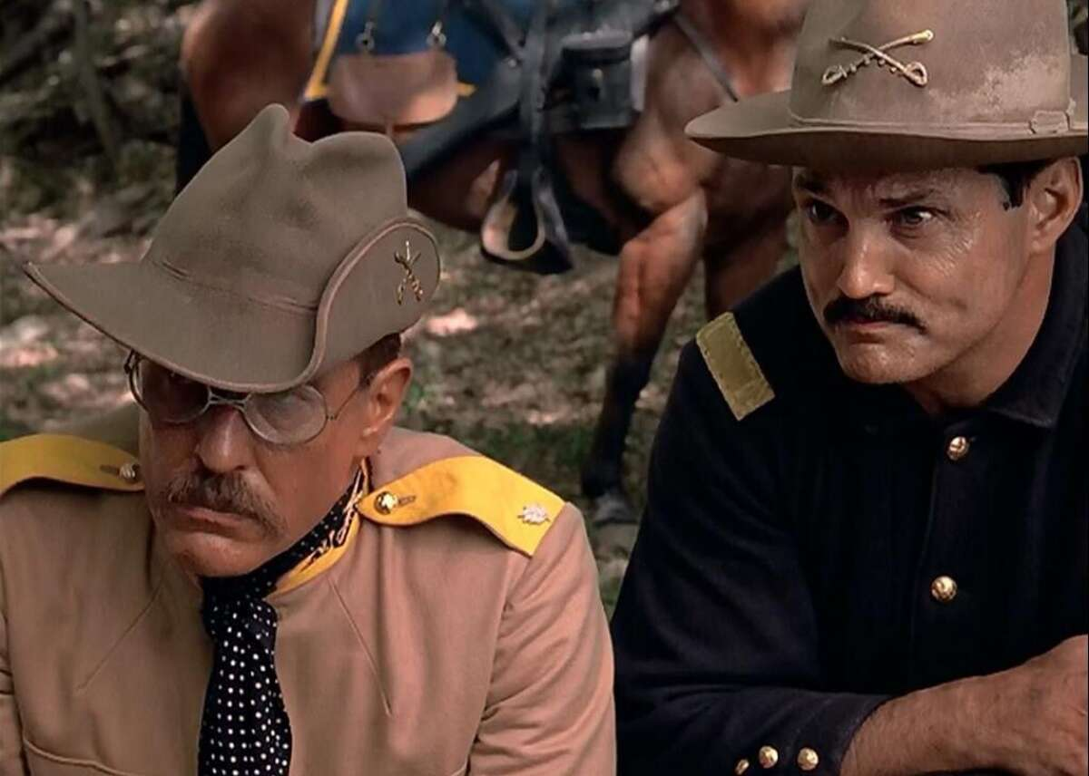 """#49. Rough Riders (1997) - IMDb user rating: 7.4 - Votes: 1,779 - Starring: Tom Berenger, Sam Elliott, Gary Busey, Brad Johnson The """"Rough Riders"""" TV miniseries chronicled Theodore Roosevelt and the 1st U.S. Volunteer Cavalry (the Rough Riders) and their part in the Spanish-American War. Director John Milius used the backdrop of the Battle of San Juan Hill to tell a familiar story-albeit a tad long-winded, according to Chris Kaltenbach of the Baltimore Sun-about the evolution of man in war, marked by the evolution of Roosevelt himself from immature glory-seeker to military and political icon. This slideshow was first published on Stacker"""