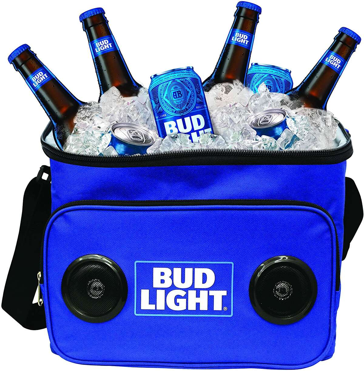 This Budlight Soft Cooler can hold up to 24 cans and comes equipped with a bluetooth speaker. An Amazon best-seller, you can get it for Dad for just $24.99.