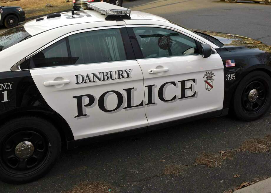 Danbury Police car. Thursday afternoon. January 17, 2019, in Danbury, Conn. Photo: H John Voorhees III / Hearst Connecticut Media / The News-Times