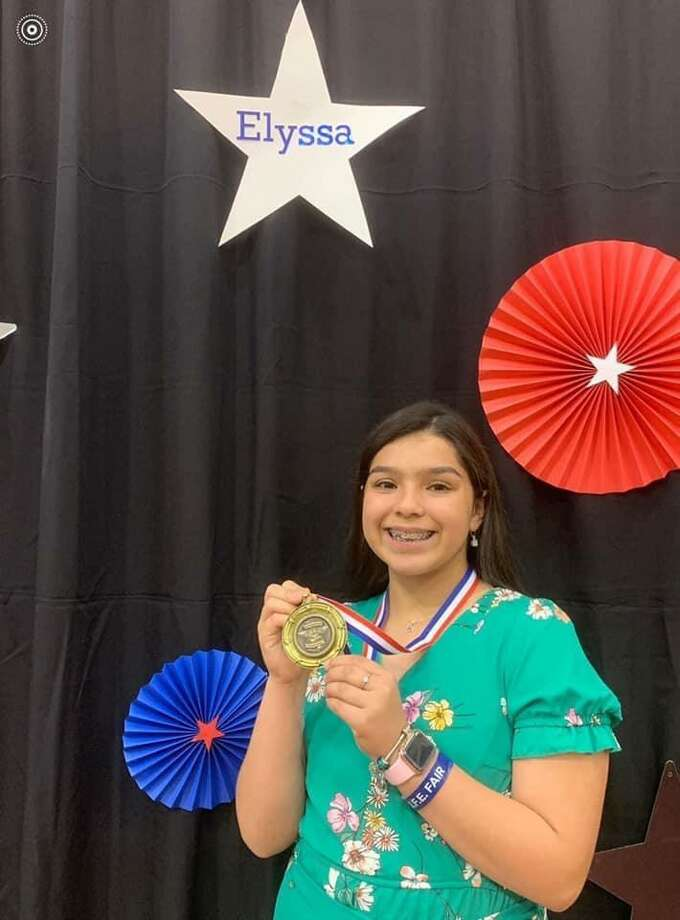 Lamar Middle School student Elyssa Cordova was recently selected at 8th Grader of the Year for the City of Laredo. Photo: Courtesy Of LISD