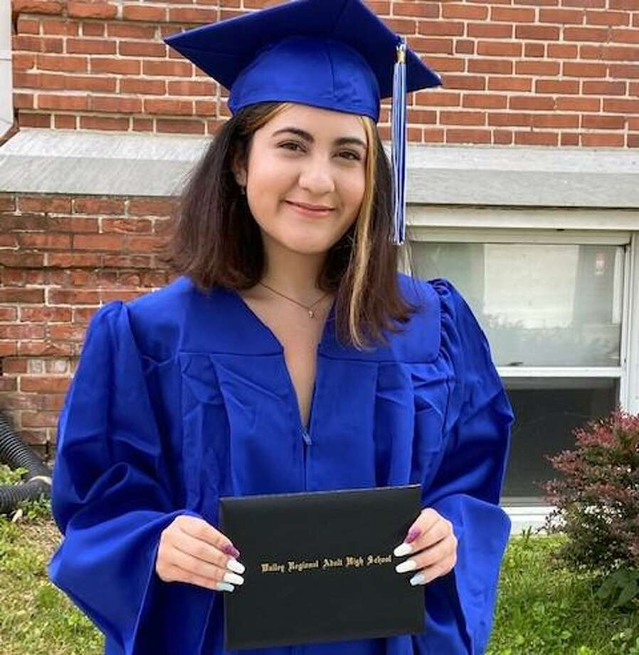 Elizabeth Gaudiosi of Shelton came to VRAE to finish her high school education through the credit diploma program with the goal of attending college. She has started an event planning business and will be applying to Gateway and Southern to study psychology. Photo: Contributed Photo / Connecticut Post