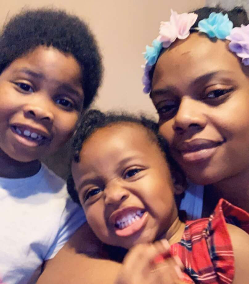 """Christina Jones, with her children, one of whom is battling cancer. The team at Circle of Care, she says, is """"just like family."""" Photo: Circle Of Care / Contributed Photo / Wilton Bulletin"""