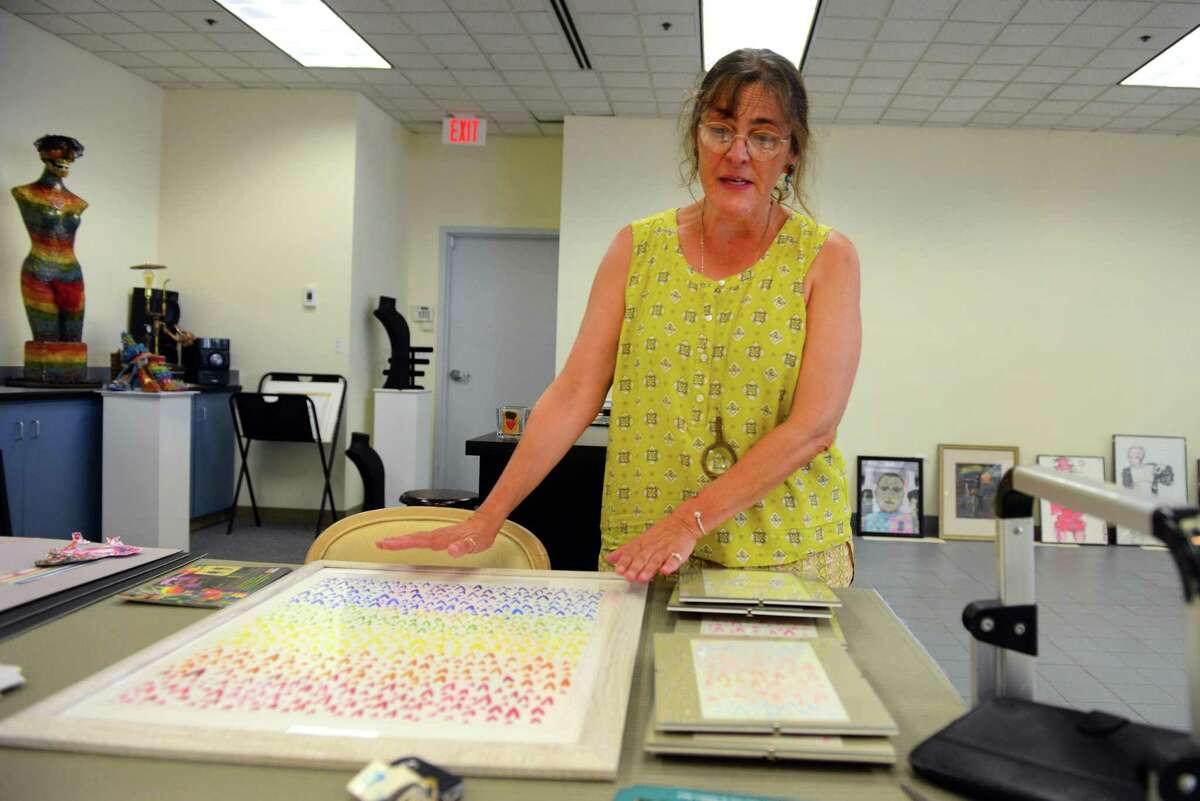 Suzanne Kachmar is the executive director of City Lights Gallery in Bridgeport.