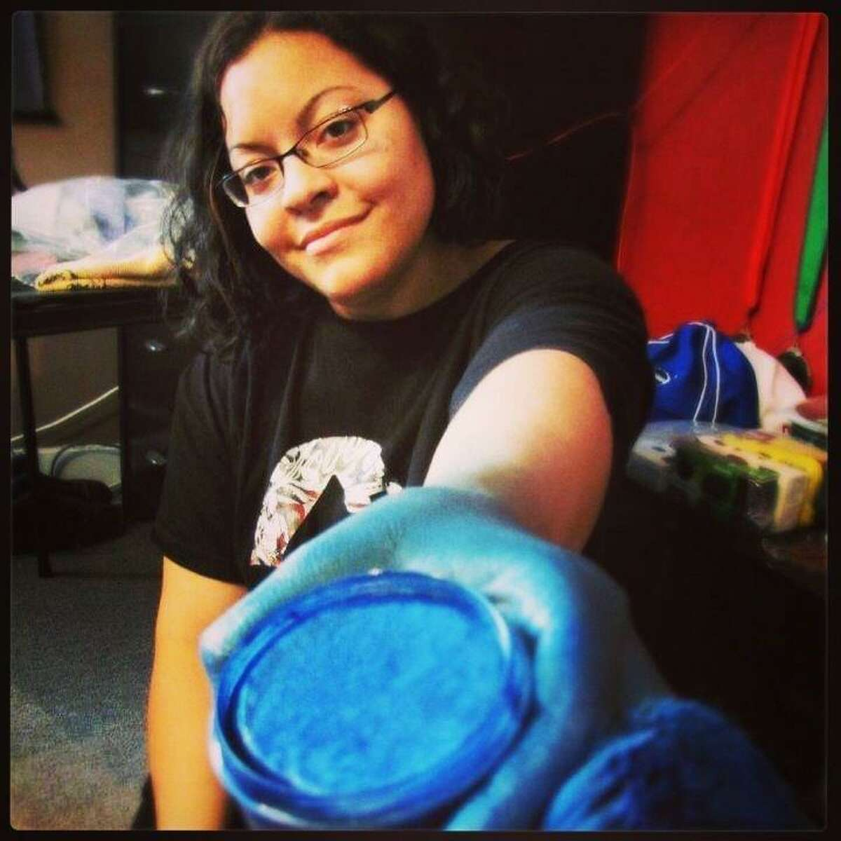 Alicia Cobb is a Bridgeport painter, body painter and art educator.