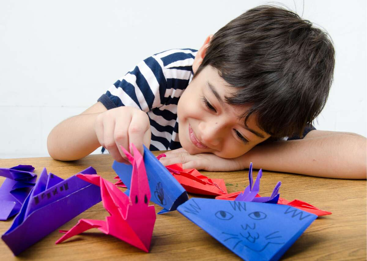 """""""I started doing origami again. Used to do it as a kid and love it."""""""