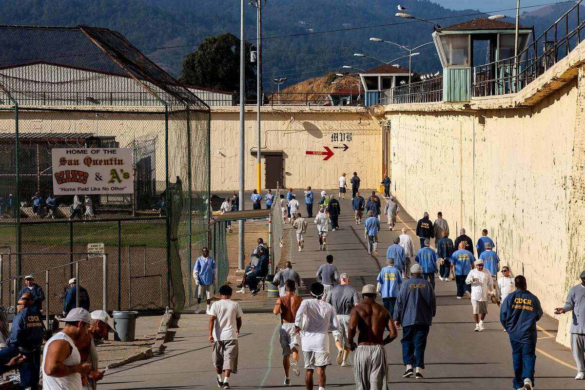 The San Quentin State Prison marathon on Friday, Nov. 22, 2019, in San Quentin, Calif.