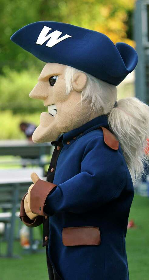 Colonial Chuck, the mascot of Western Connecticut State University. Photo: File Photo / GT / Hearst Connecticut Media