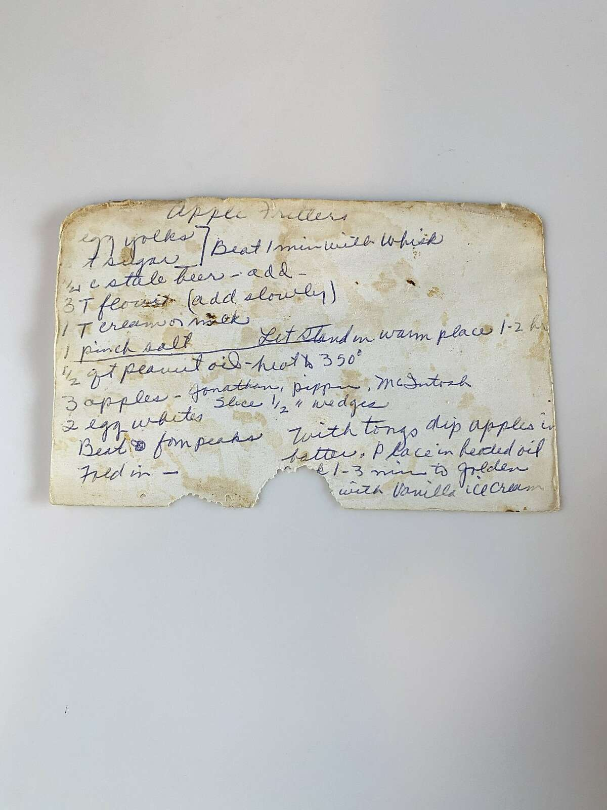Margaret Mason's box of recipes, found at a flea market, inspired� The Kitchen Committee project.