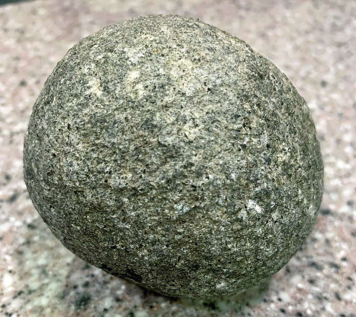 Several ground stone or pecked stone spheres have been found in Connecticut, but they are a mysterious artifact type that is found all over the world and from different time periods, according to the state archeologist.