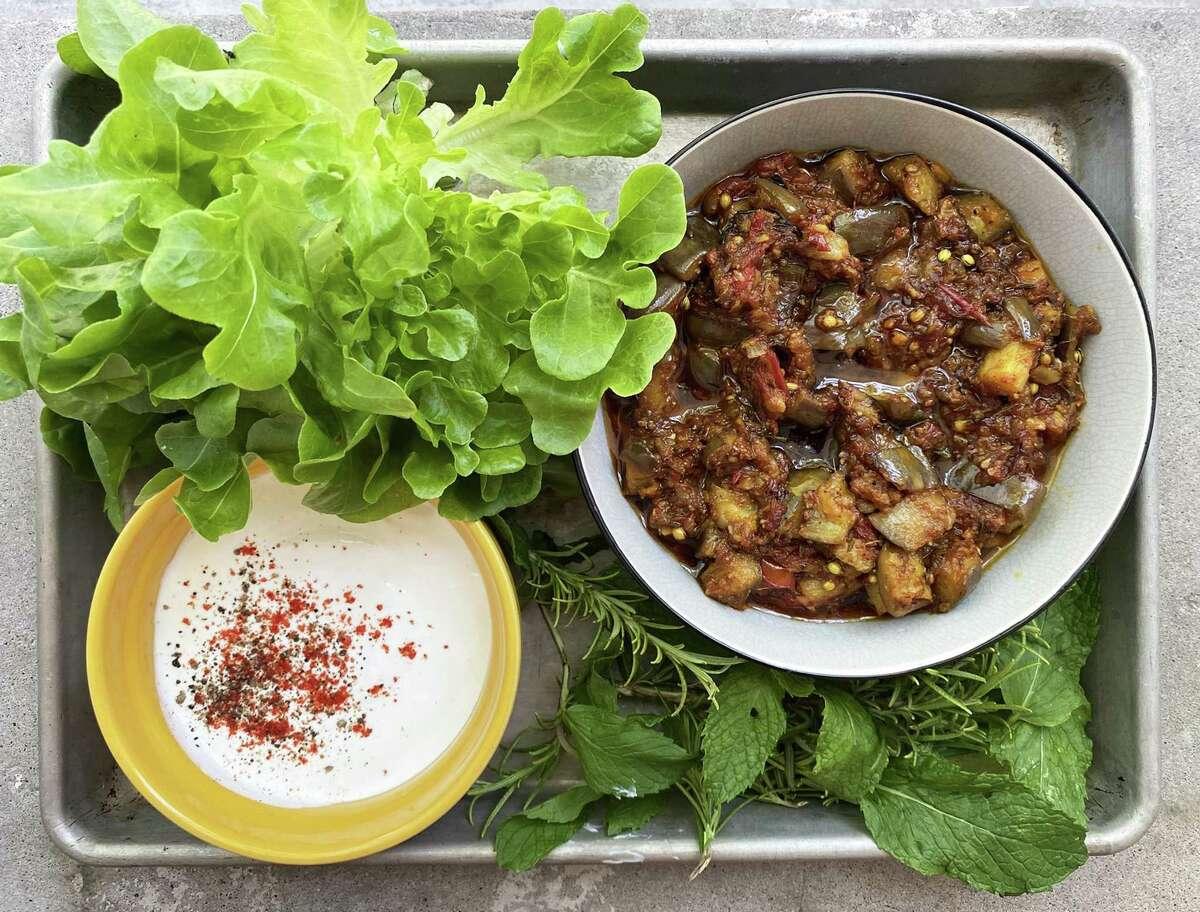 Eggplant Pickle from chef Anita Jaisinghani