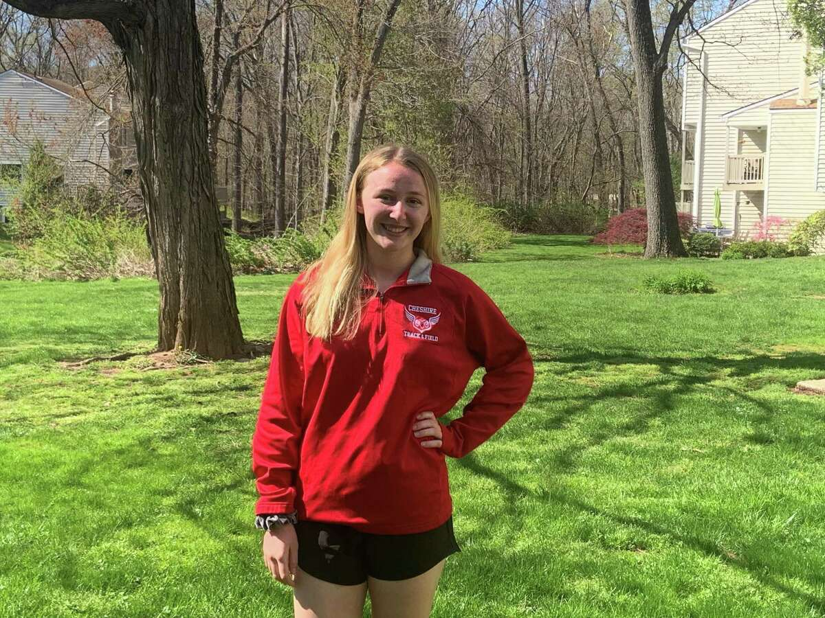 Kayla Byrne, Cheshire Girls Outdoor Track