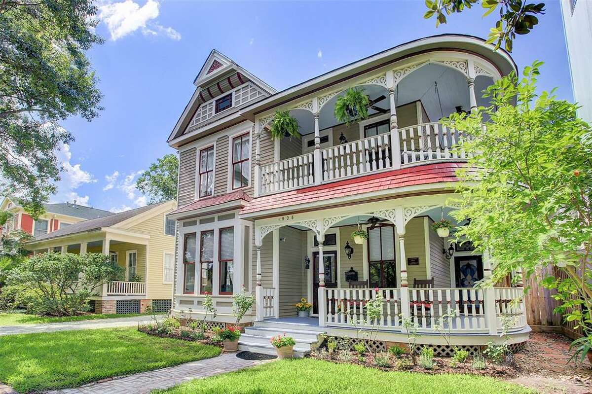 The home was built in the late 1800s and is located on the National Register of Historic Places with pending status as a Protected Landmark in the City of Houston. It has been recently restored over the years.