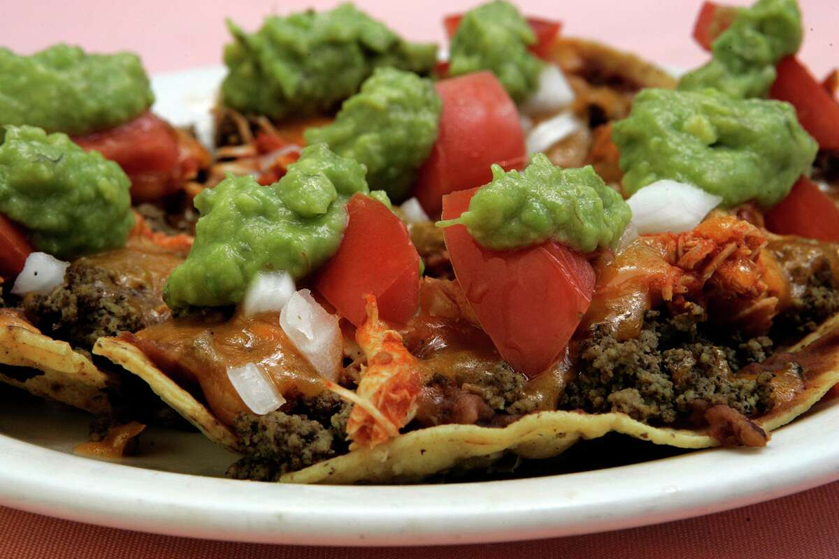 El Bosque Mexican Restaurant on West Avenue was known for its loaded nacho plate.