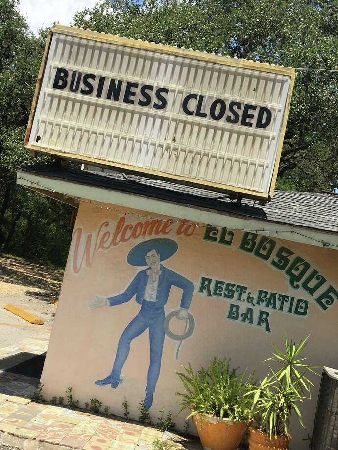 El Bosque Mexican Restaurant, located at 12656 West Ave., has announced that it has closed after almost 50 years in business. Photo: Chuck Blount /Staff