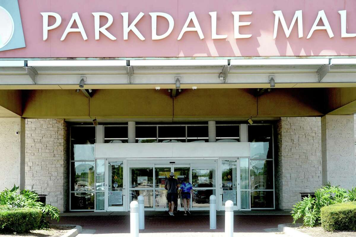 Shoppers make their way in and out of Parkdale Mall on the first day of several businesses and other organizations, such as museums, reopening throughout the region and state Friday, May 1. Photo taken Friday, May 1, 2020 Kim Brent/The Enterprise