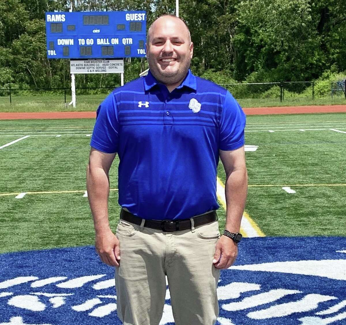 Old Saybrook Public Schools recently promoted Brendan Saunders to the new athletic director.