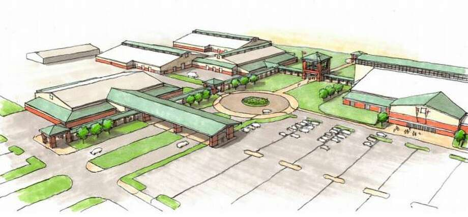 A rendering shows the planned Webb County Fairgrounds project. At Commissioners Court on Monday, Gilpin Engineering was selected to oversee construction. Photo: Courtesy Of Webb County
