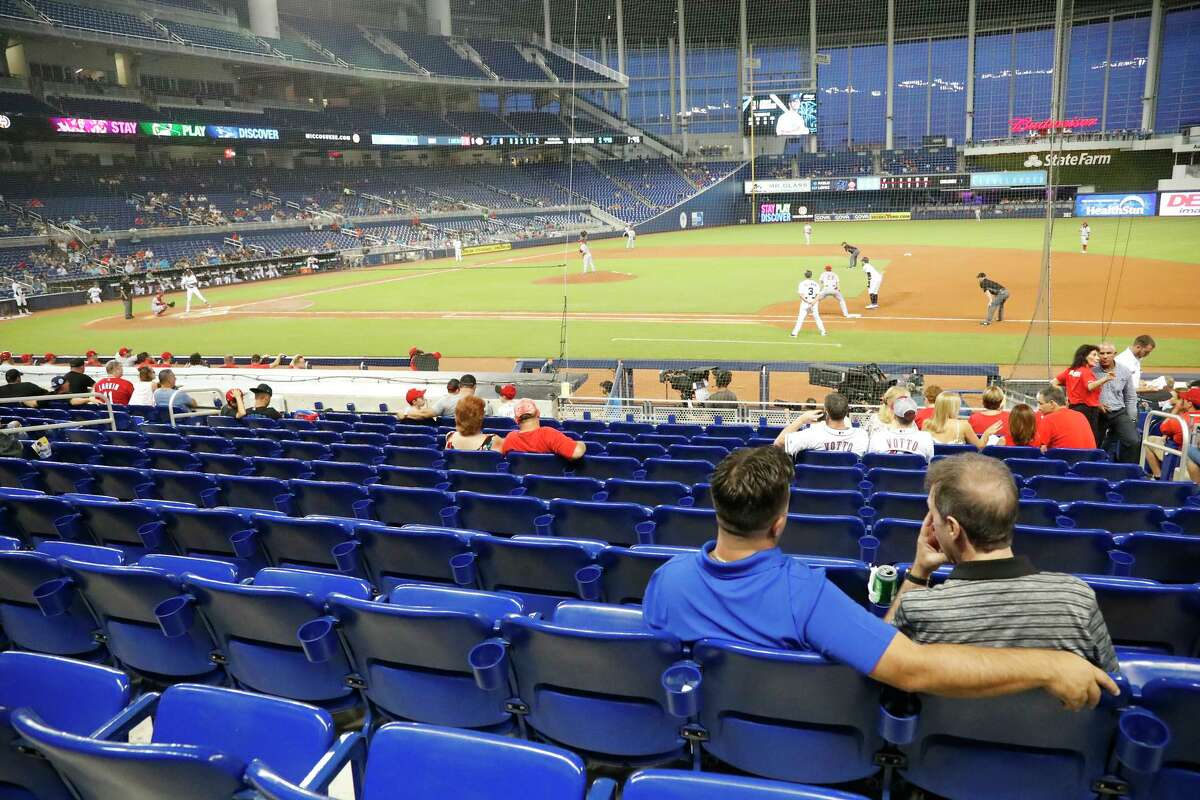 If baseball owners and players can't get their act together, fan interest in many locales might resemble what the Marlins and Reds experienced at a game in Miami last August.