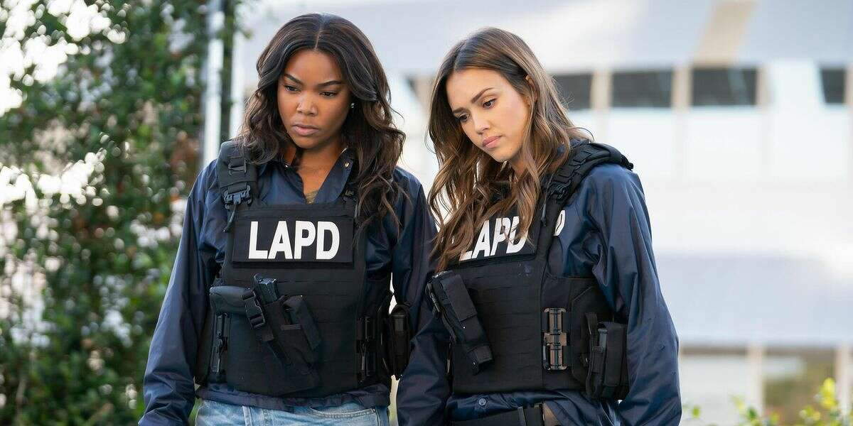 """Police drama """"L.A.'s Finest"""" was set to return for its second season on Spectrum on Monday, June 15, but has temporarily been pulled from the schedule out of respect for the protests."""
