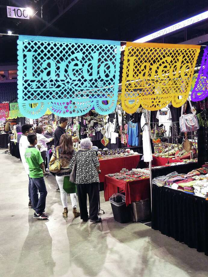 Laredoans will have an opportunity to shop for arts and crafts, jewelry, clothing, leather goods and to taste authentic food from throughout Mexico as the City of Laredo is hosting the Laredo International Sister Cities Festival 2019 through Sunday, July 14, 2019, at the Sames Auto Arena. More than 200 exhibitors from Mexico and South America are at the event to offer their hand-crafted products. Photo: Cuate Santos / Laredo Morning Times / Laredo Morning Times