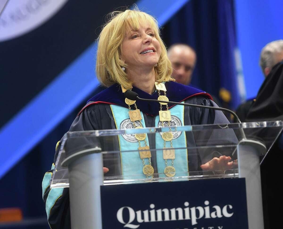 Quinnipiac University President Judy Olian