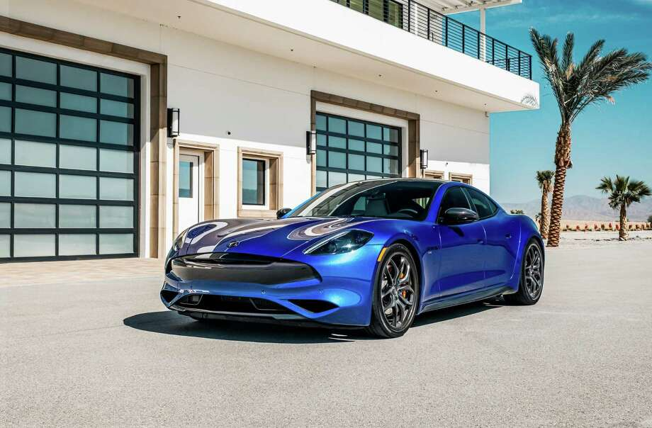 Karma Automotive's new Sports and Performance packages for the Revero GT deliver a 0 to 60 mph in 3.9 seconds, alongside a variety of visual enhancements such as carbon fiber trim. Photo: Hand-out / Karma Automotive / Karma Automotive