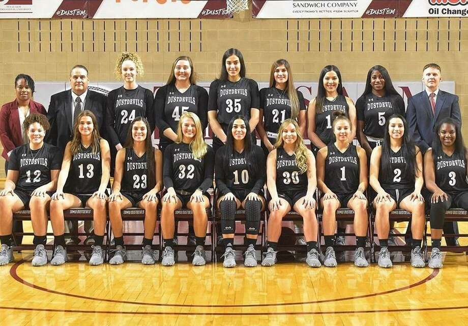 The TAMIU women's basketball team released a statement Tuesday in support of Black Lives Matter. Photo: Courtesy Of TAMIU Athletics