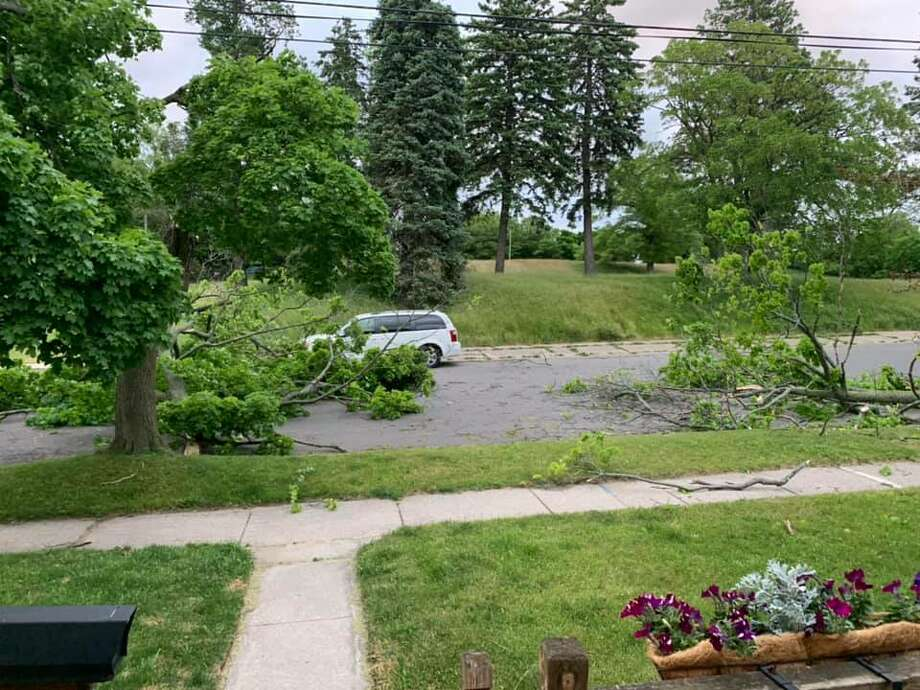 Seth Farnsworth took this photo on Ford Street in Manistee. Photo: Seth Farnsworth/Courtesy Photo