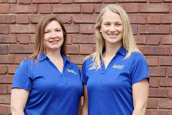 Dr. Kimberly Anderson (left) and Dr. Heidi Boehm Ware own Boehm Family Chiropractic.