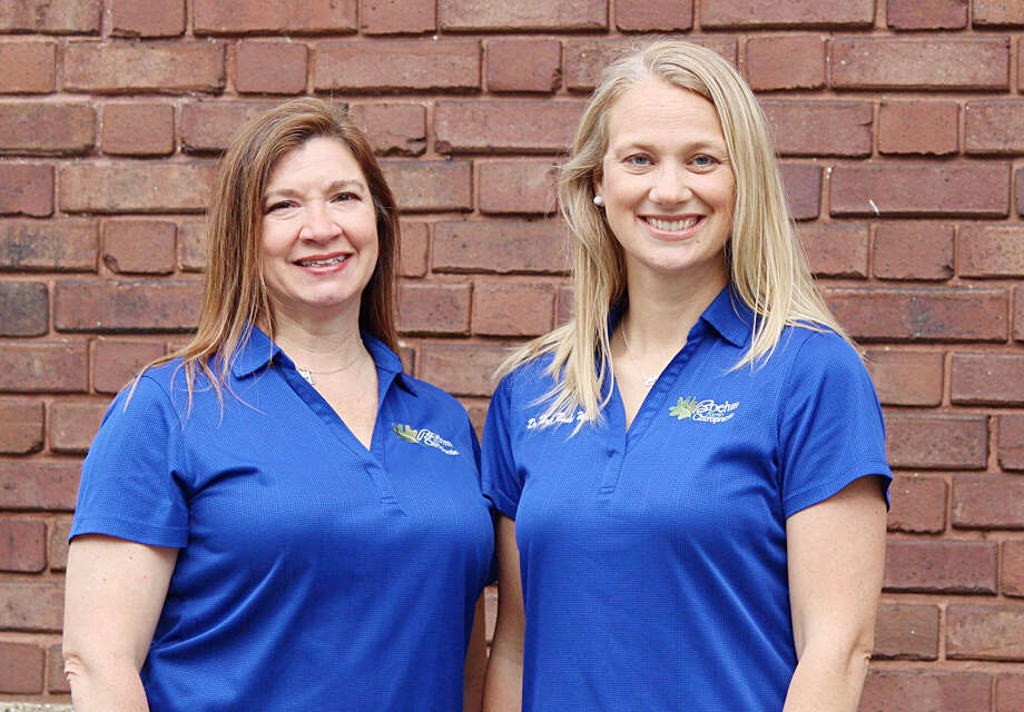 Dr. Kimberly Anderson (left) and Dr. Heidi Boehm Ware own Boehm Family Chiropractic. Photo: Courtesy Photo