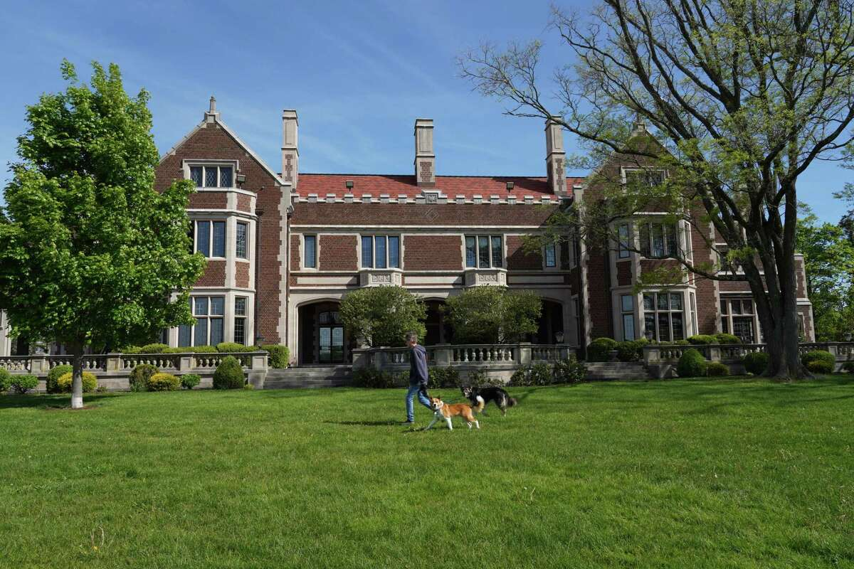 The Waveny House stands in the beloved 300-acre Waveny Park in New Canaan. The town's Board of Finance wants a plan for how the house will be used in the future as $1.8 million in renovations is set to be bonded for it.