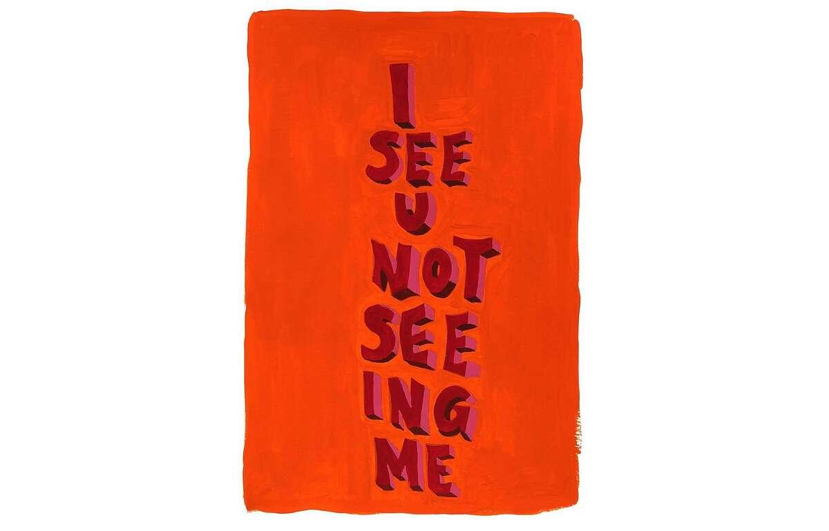 I See U Not Seeing Me