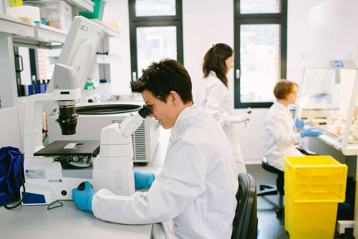 Researchers at Vir Biotechnology's lab in Bellinzona, Switzerland, helped discover an antibody in the blood of a person who recovered from SARS in 2003 that was effective at blocking both SARS and the coronavirus.