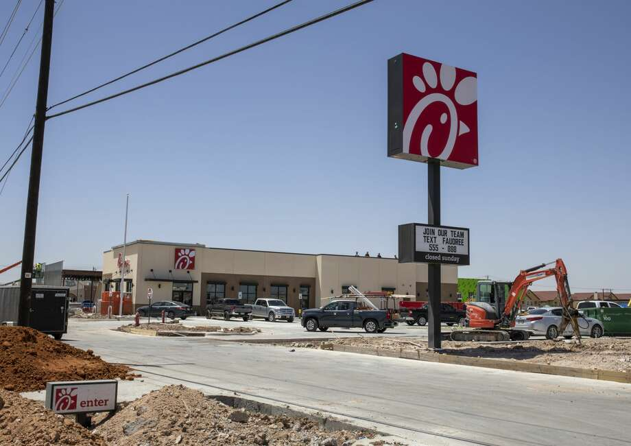The new Chick-fil-A as seen on Wednesday, June 10, 2020 off Faudree Road in Odessa. Photo: Jacy Lewis/Reporter-Telegram / Jacy Lewis/Reporter-Telegram