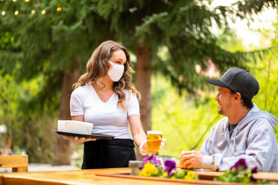 FILE-- As San Francisco restaurants begin to offer outdoor dining, health safety steps will need to be implemented amid the coronavirus pandemic. Photo: StockstudioX/Getty Images