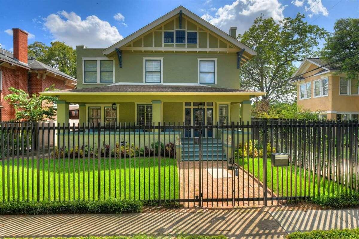 Montrose: Craftsman 905 Kipling Street List price: $2 million