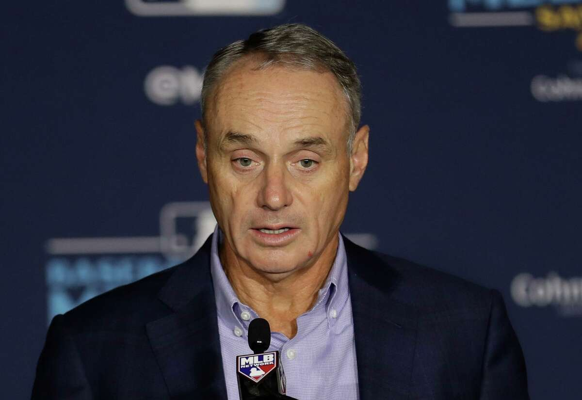 An agreement reached March 26 with the union gives MLB commissioner Rob Manfred the authority to impose a 2020 season at the length of his choosing if players and owners can't come to terms on a deal.