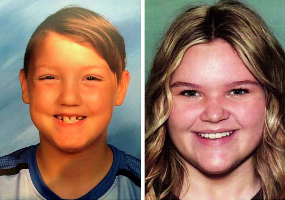 """Undated photos provided by the National Center for Missing & Exploited Children show Joshua """"J.J."""" Vallow, 7, left, and Tylee Ryan, 17, who have been missing for months. Their stepfather, Chad Daybell, was arrested on a felony charge of concealing evidence on Tuesday, June 9, 2020, after investigators found unidentified human remains on his property, the authorities said. (National Center for Missing & Exploited Children via The New York Times) -- NO SALES; FOR EDITORIAL USE ONLY WITH NYT STORY SLUGGED IDAHO MISSING CHILDREN BY NEIL VIGDOR FOR JUNE 10, 2020. ALL OTHER USE PROHIBITED. -- Photo: NATIONAL CENTER FOR MISSING & EX / NATIONAL CENTER FOR MISSING & EX"""