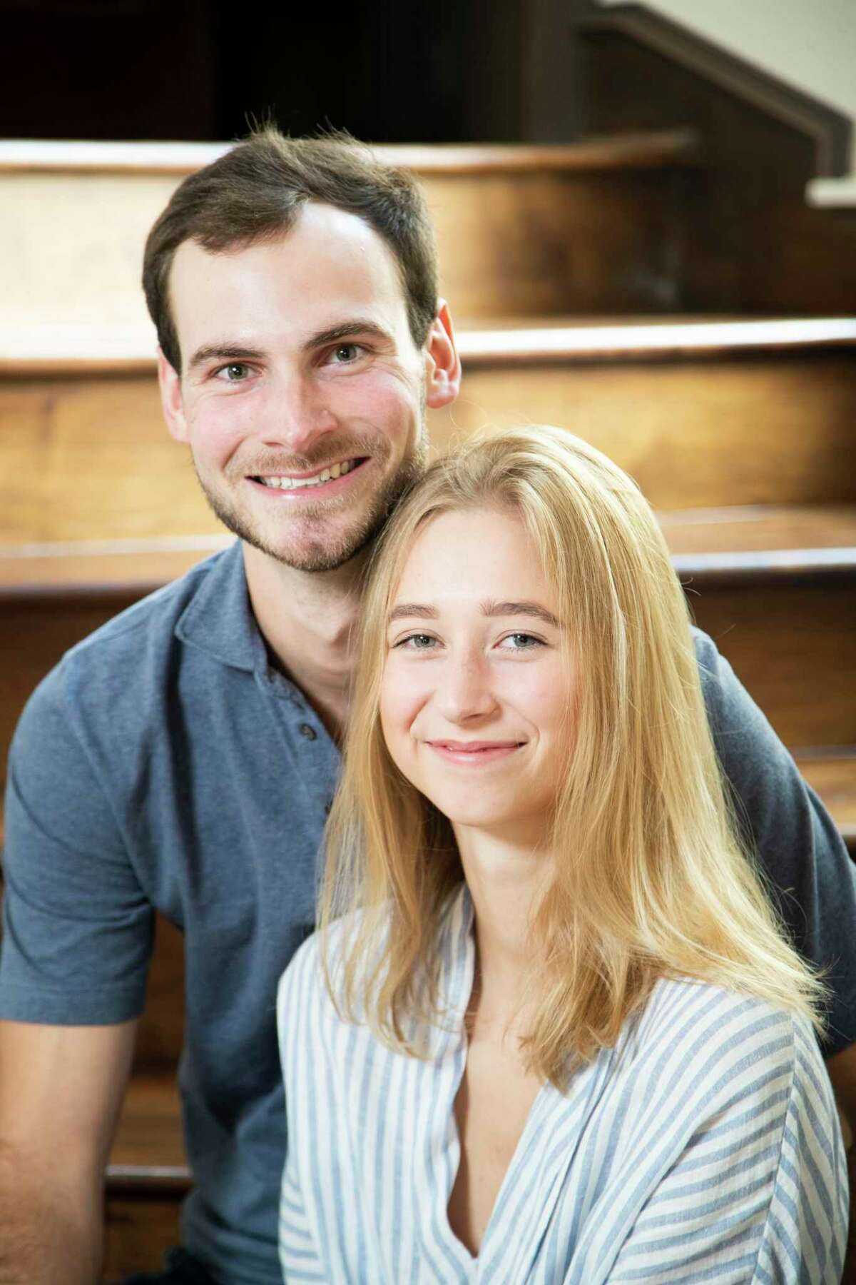 Parker Johnson, 23, and Edie Wlison, 20, in Houston on Saturday, June 6, 2020. After a family trip to Mexico, Edie made a stop in Houston to visit Parker who at the moment was her ex-boyfriend. While she was staying in Houston Edie's brother had tested positive for COVID-19, and Edie needed to quarantine for two weeks. During her time in isolation Edie and Parker rekindled their relation.