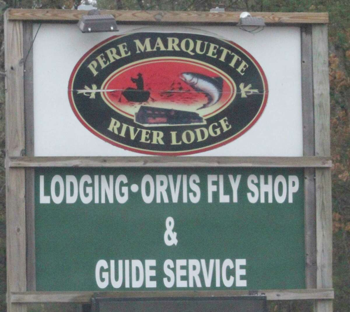 Pere Marquette River Lodge is keeping its guides very active. (Star photo/John Raffel)