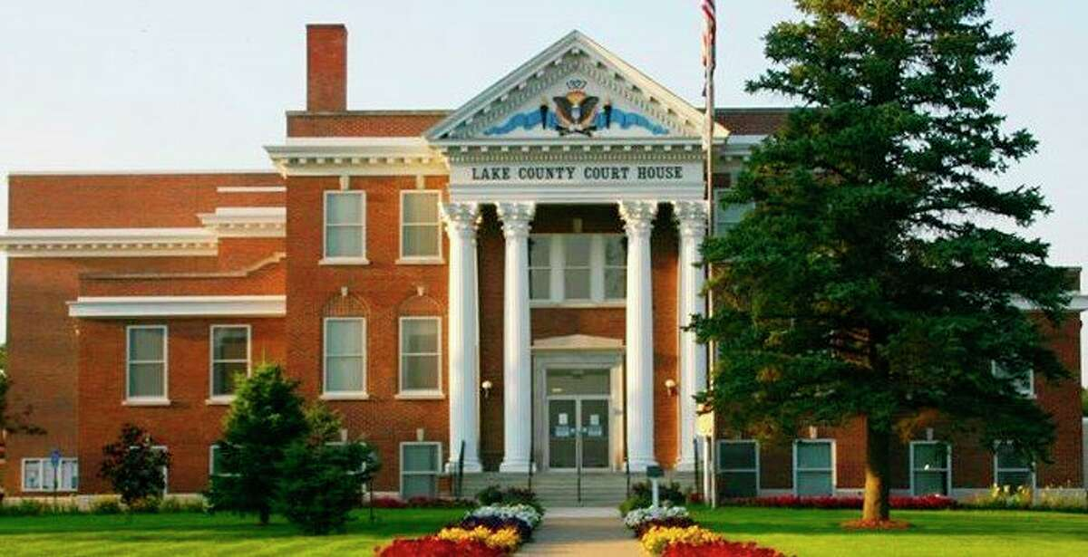 The Lake County Courthouse and other county buildings are now open to the public with restrictions such as, face coverings for all visitors and social distancing, still in effect. (Star file photo)