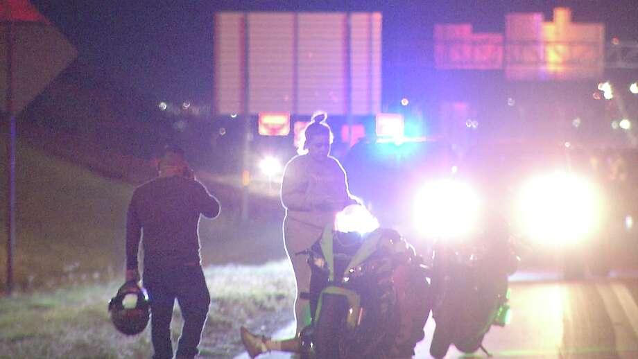 One person is dead after a motorcycle crash near the South Side (June 10, 2020) Wednesday night. Photo: Ken Branca
