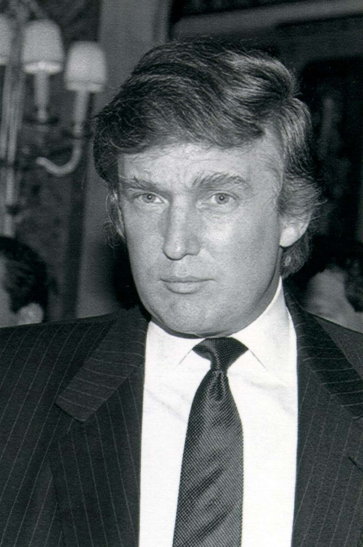 Real estate mogul Donald Trump on April 9, 1991 file photo. Trump missed a payment due on junk bonds used to finance one of his Atlantic City, N.J., resorts on June 15, 1990.