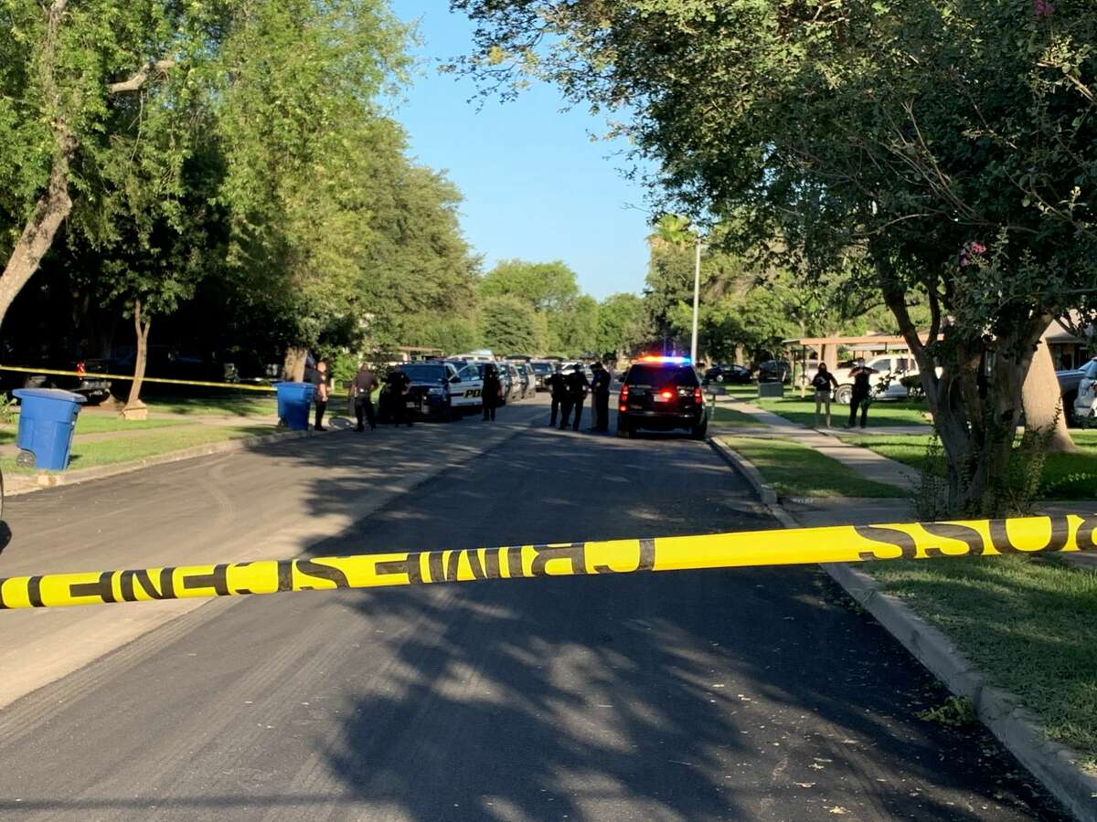 SAPD is on the scene of a reported shooting in the 5000 block of Round Table Drive Thursday June 11, 2020.